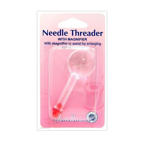 Hemline Needles Threader with Magnifier