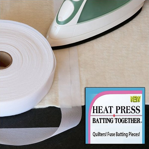 """Heat Press Batting Together JH34 Heat Press Batting Tape - 3/4"""" width"""