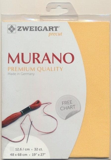 Zweigart 3984/2128 Precut Murano Lugana