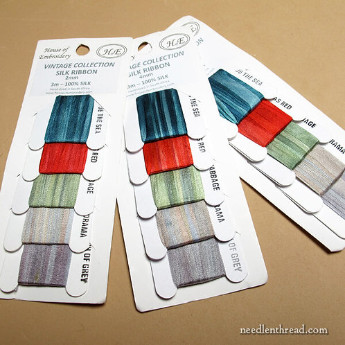 House of Embroidery Silk Ribbon (4mm)