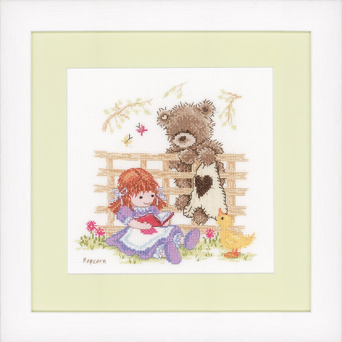 Vervaco PN-0147891 Counted Cross Stitch Kit Telling a Story aida