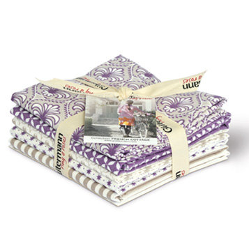 Gutermann G646024-2 'French Cottage' Fat Quarter Bundles