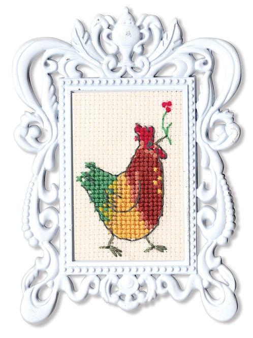 """RTO FA006 Cross-stitch kit """"Cock"""""""