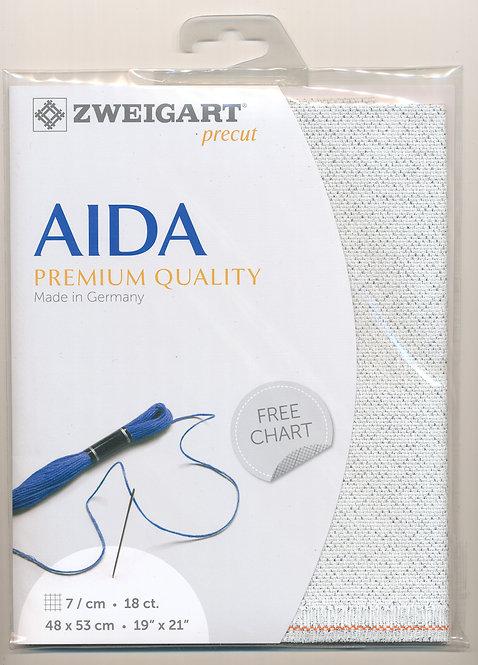 Zweigart 3793/17 Precut Fein-Aida 18 ct.