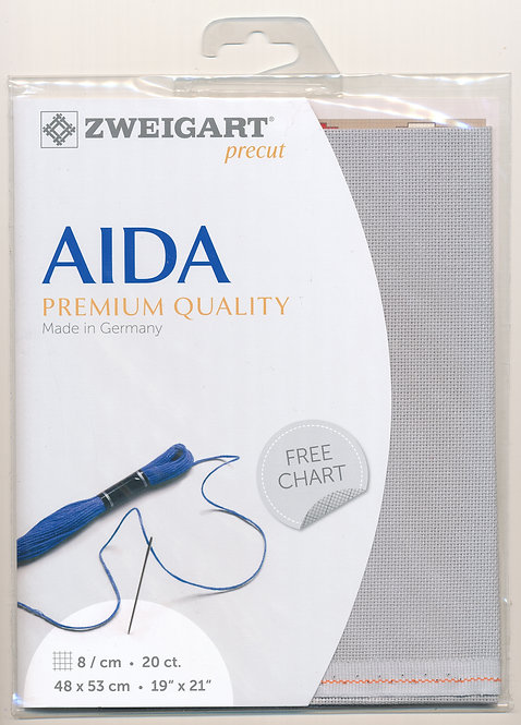 Zweigart 3326/705 Precut Aida extra fine
