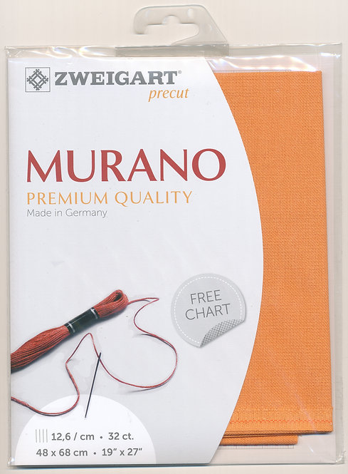 Zweigart 3984/4076 Precut Murano Lugana