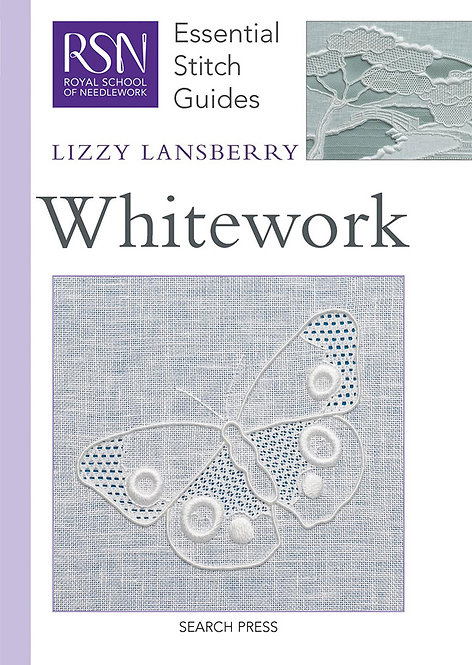 RSN Essential Stitch Guides Whitework