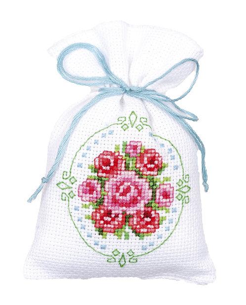 Vervaco PN-0144761 Bag Roses aida