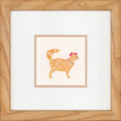 "Lanarte PN-0150007 Counted Cross Stitch Kit ""Jazz Cats"" Linen"