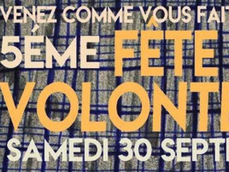 Fête des Volonteux : Samedi 30 Septembre