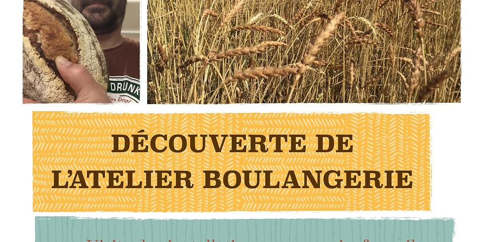 """Découverte de l'atelier boulangerie """"Le pain des Volonteux"""""""