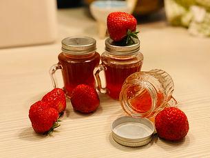 Cairnie fruit farm's strawberry, Strawberry Jam, By Yufei