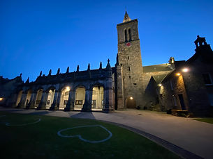 Unidersity of St Andrews, St Salvator's Quad, By Yufei