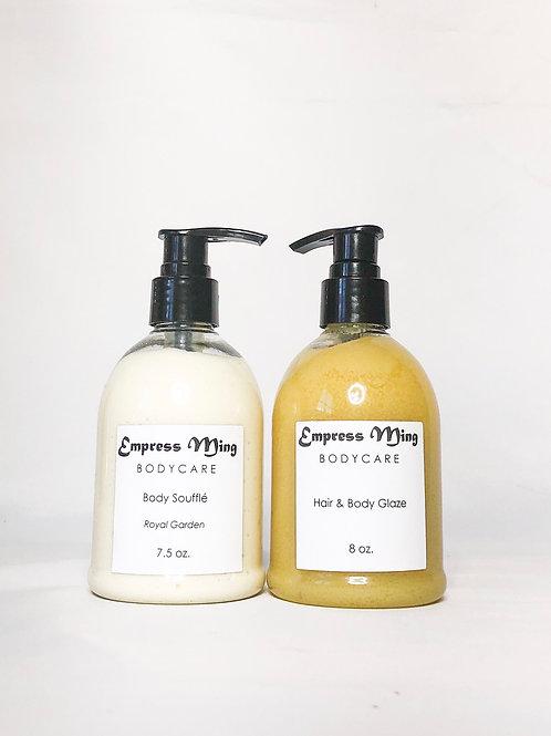 Duo Set: Body Soufflé & Hair & Body Glaze