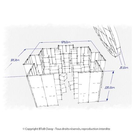 Creation BToB Classy - Plan de masse