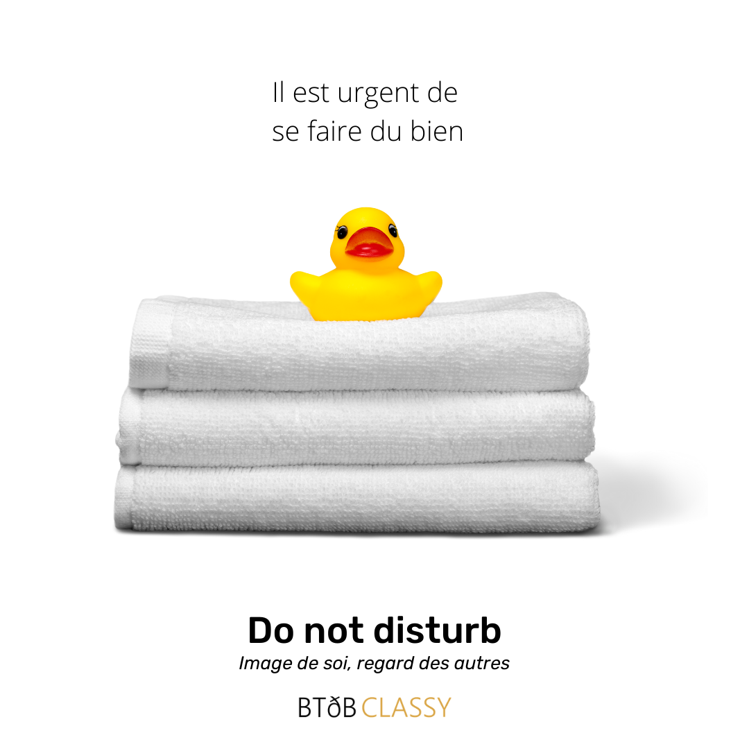 Do not disturb - Urgent de se faire du bien