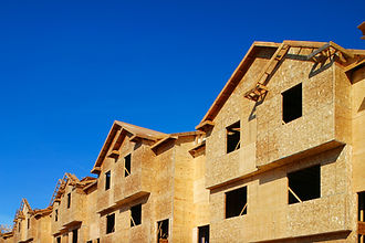 Townhouses being constructed. .jpg
