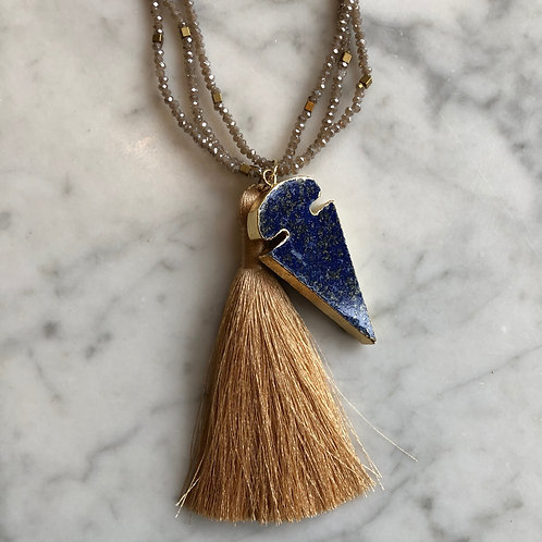 Tassel & Arrowhead Necklace