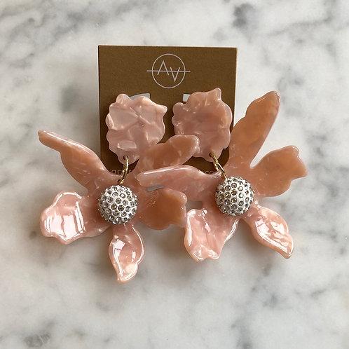 Acrylic Flower (Blush)