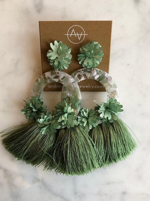 Coco Earrings (Jade)