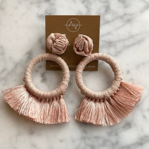 Fabric Hoops (Blush)