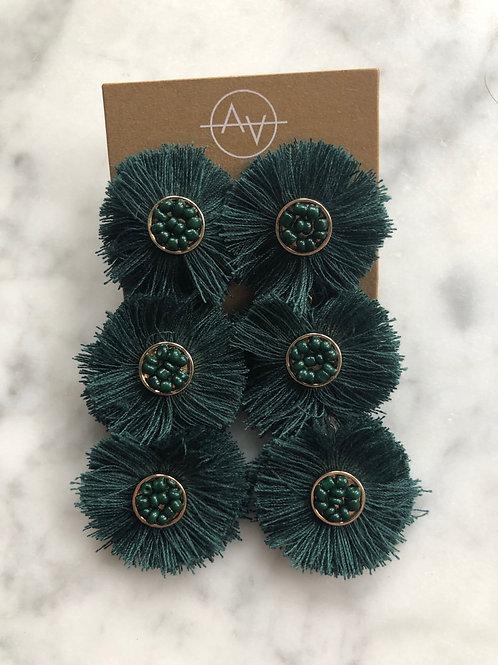 Flower Drop (Emerald)