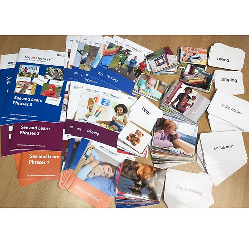 See and Learn Phrases Kits
