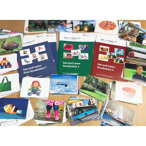 See and Learn Vocabulary Packs 1-3