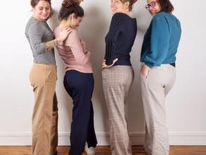 Nouveau patron : le pantalon Tess