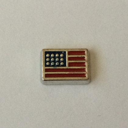US Flag Charm