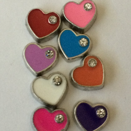Colorful Heart Charm