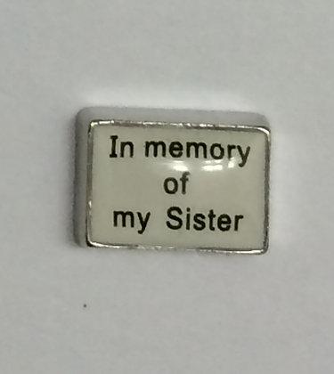 In Memory of My Sister