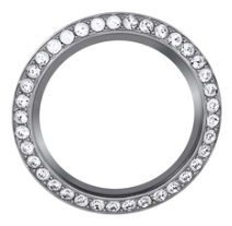 30mm Round Clear Rhinestone