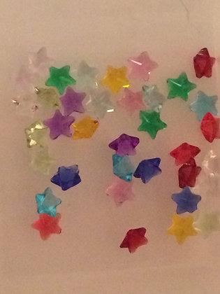 5mm Birthstone Stars