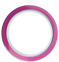 30mm Round Pink