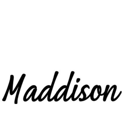 Custom Name Sticker - Font Two