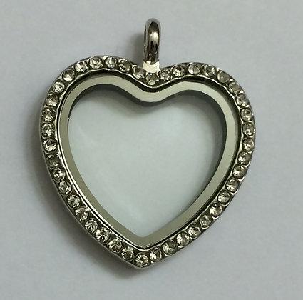 Rounded Heart Locket