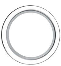 30mm Round White