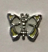 Butterfly With Rhinestone