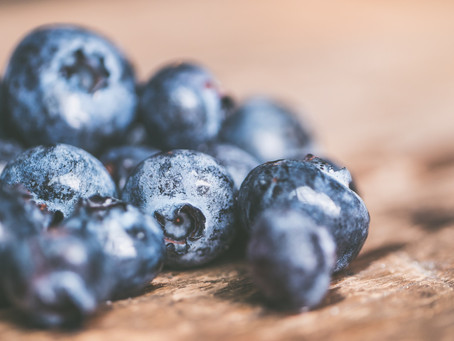 The ultimate super food - Blueberries