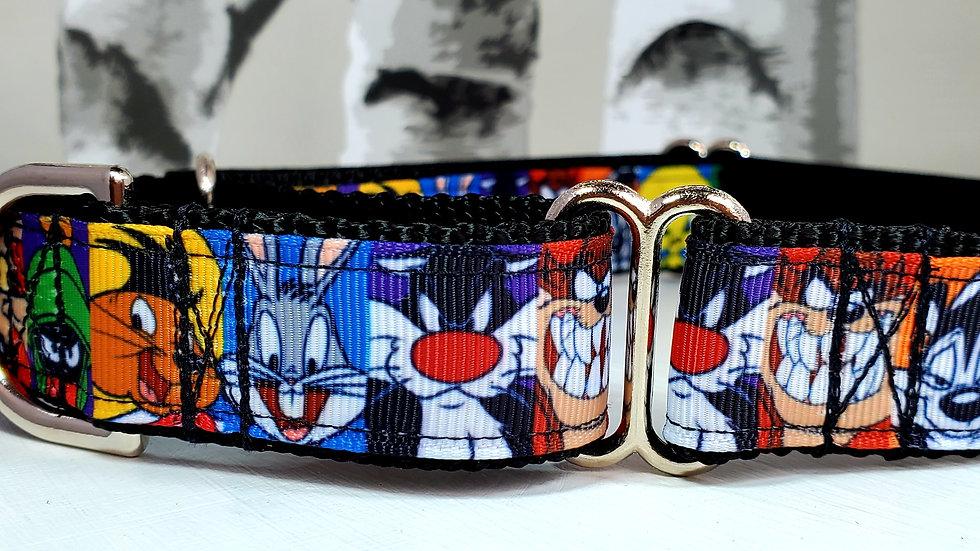 "1"" Looney Tunes Martingale Collar"