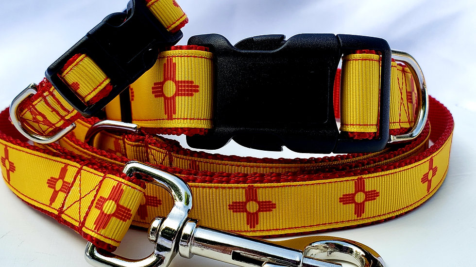 """1"""" New Mexico Southwestern Collar, Martingale, Harness,  or Leash"""