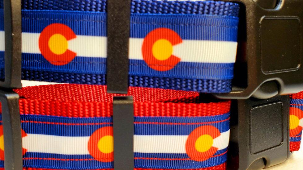 """1.5"""" Colorado Dog Collar"""