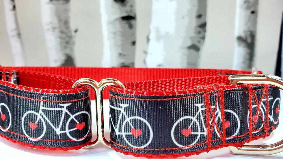 Bicycle Martingale Dog Collar