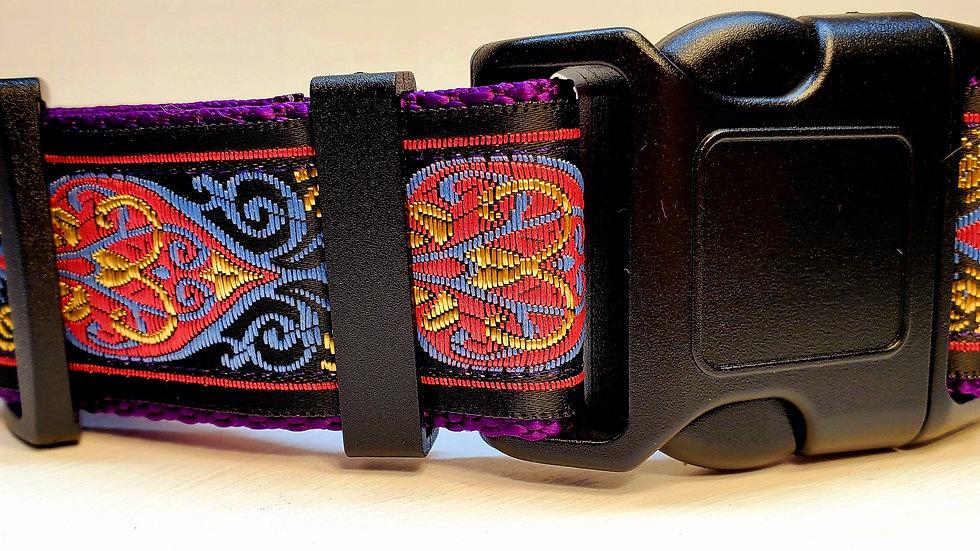"1.5"" Purple Dog Collar"