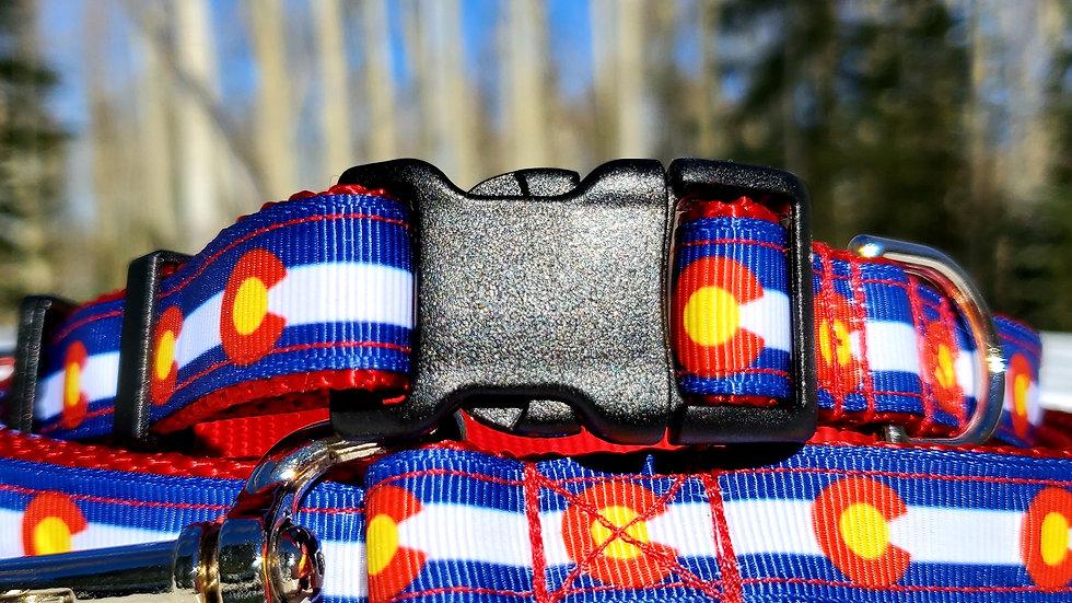 "3/4"" Colorado Dog Collar, Leash, Martingale, Harness"