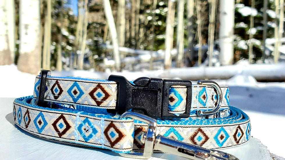 "1/2""  Southwest Dog Collar, Leash, or Harness"