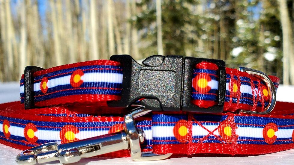 "1/2"" Colorado Dog Collar, Leash, or Harness"