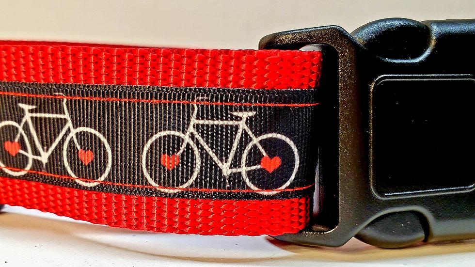 "1.5"" Bicycle Dog Collar"