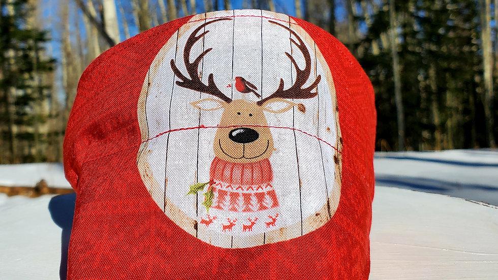 Christmas Bear Reindeer Candy Cane Reversible Dog Bandana